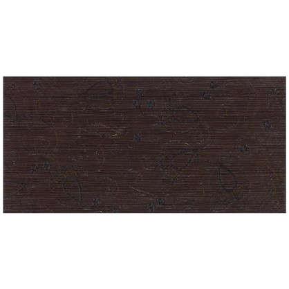 Декор Наоми 19.8x39.8 см цвет коричневый