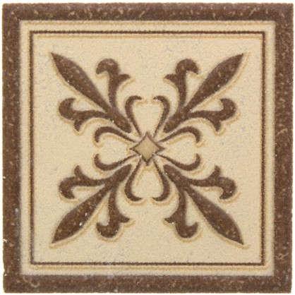 Декор Таллин 6х6 см цвет бежевый цена