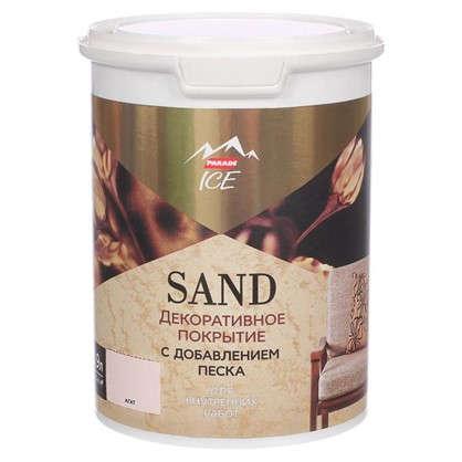 Декоративное покрытие с эффектом песчаной дюны цвет агат 0.9 л