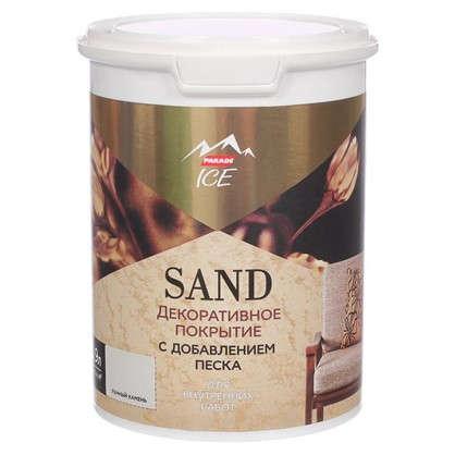 Декоративное покрытие с эффектом песчаной дюны цвет лунный камен 0.9 л