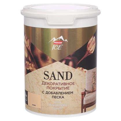 Декоративное покрытие с эффектом песчаной дюны цвет оникс 0.9 л