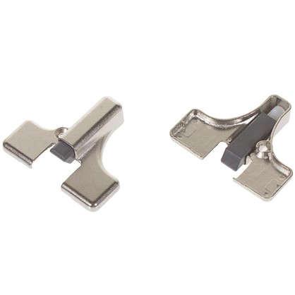 Демпфер универсальный Indamatic для петли замак/пластик цвет никель 2 шт. цена