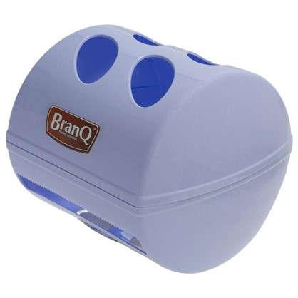 Держатель для туалетной бумаги Aqua с крышкой цвет белый цена