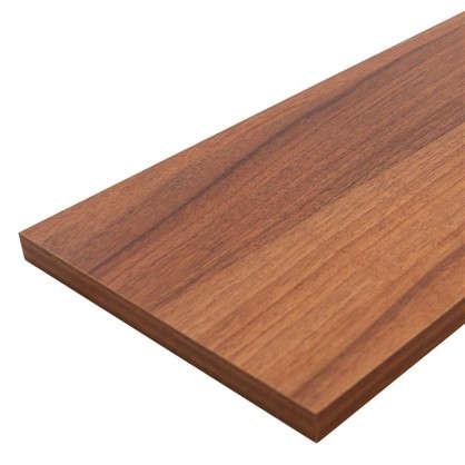Мебельная деталь ЛДСП 2700x300x16 мм цвет орех антик
