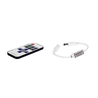 Диммер для монохромной светодиодной ленты 04-10 12 В 72 Вт кнопочный пульт цена