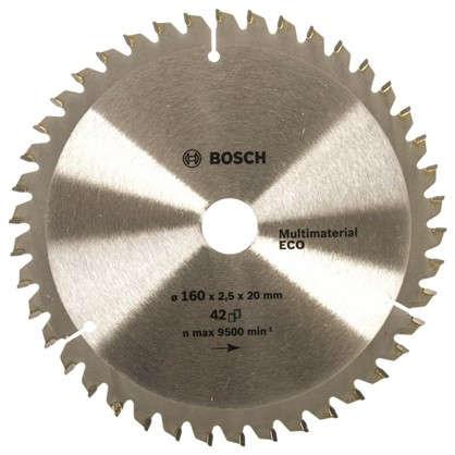Диск циркулярный по дереву Bosch MultiECO 160x20/16 мм цена