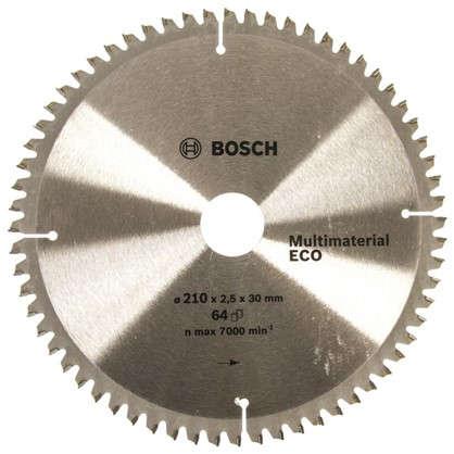 Диск циркулярный по дереву Bosch MultiECO 210x30 мм цена