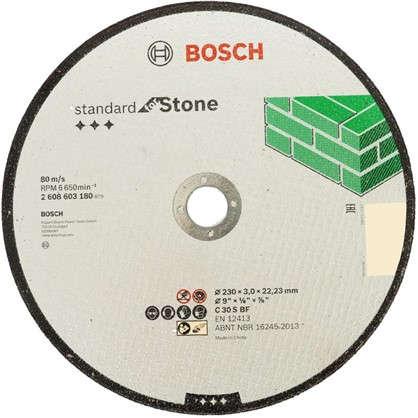 Диск отрезной по камню Bosch 230x3 мм цена