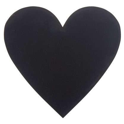 Доска для записей меловая Сердце цена