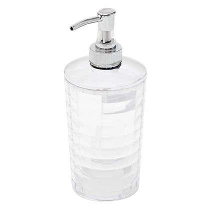 Дозатор настольный для жидкого мыла Vidage Корбу цвет прозрачный цена