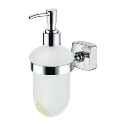 Дозатор подвесной для жидкого мыла Kvadro цвет хром цена