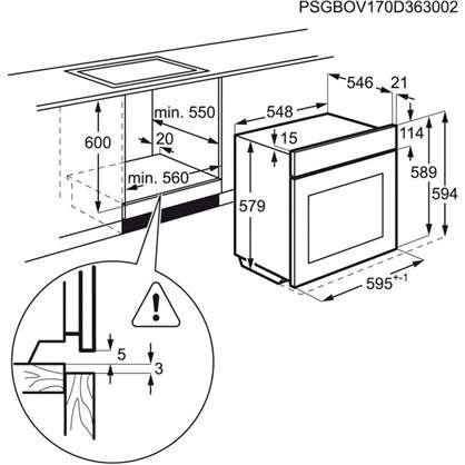 Духовой шкаф с паром Electrolux OPEA4554X