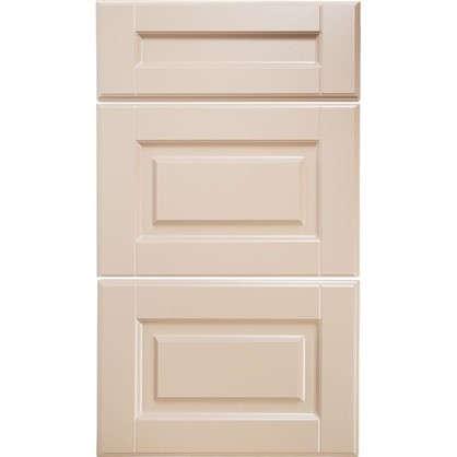 Дверь для кухонного шкафа Леда бежевая 60 см 3 ящика цена