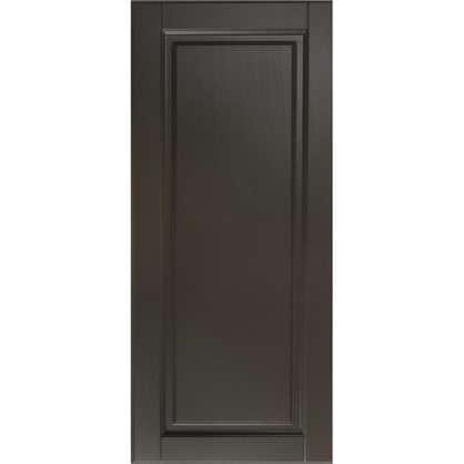 Дверь для кухонного шкафа Леда серая 40х92 см цена