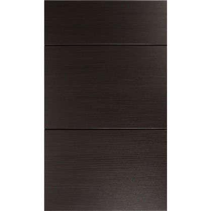 Дверь для кухонного шкафа Шоколад 3 ящика 40 см цвет шоколад