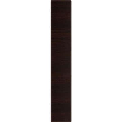 Дверь для кухонного шкафа Византия 15х70 см цвет темно-коричневый цена