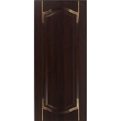 Дверь для кухонного шкафа Византия 30х92 см цвет темно-коричневый цена