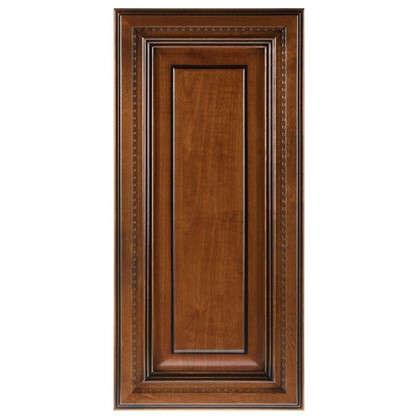 Дверь для шкафа Прованс 33х70 см массив дерева цвет коричневый цена