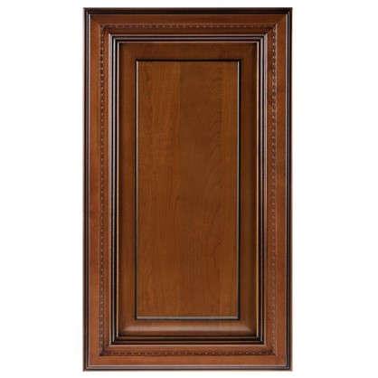 Дверь для шкафа Прованс 40х70 см массив дерева цвет коричневый цена