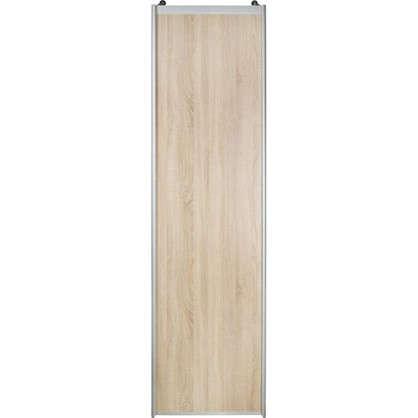 Дверь-купе 2555х704 см цвет дуб сонома/серебро цена