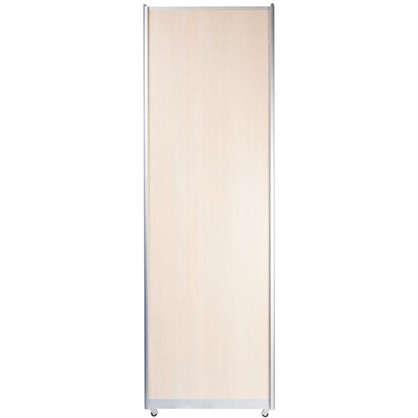 Дверь-купе Spaceo 2455х704 мм цвет дуб беленый