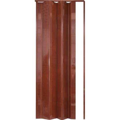 Дверь ПВХ Стиль 84x205 см цвет вишня