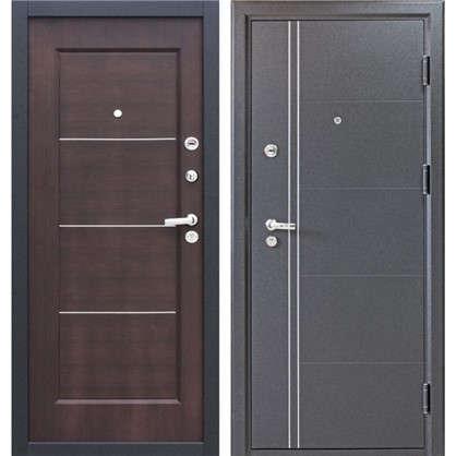 Дверь входная металлическая Ferrum 8 860 мм правая цвет венге