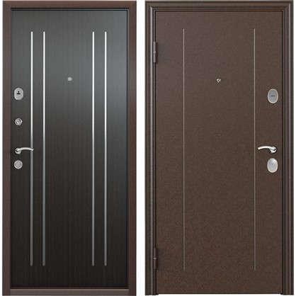 Дверь входная металлическая Гарант 1 860 мм левая
