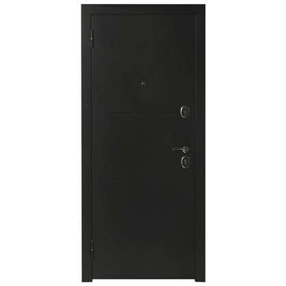 Дверь входная металлическая Гарда Муар 960 мм правая цвет лиственница бежевая