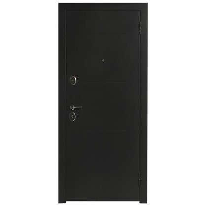 Дверь входная металлическая Гарда Муар 960 мм правая цвет венге тобакко цена