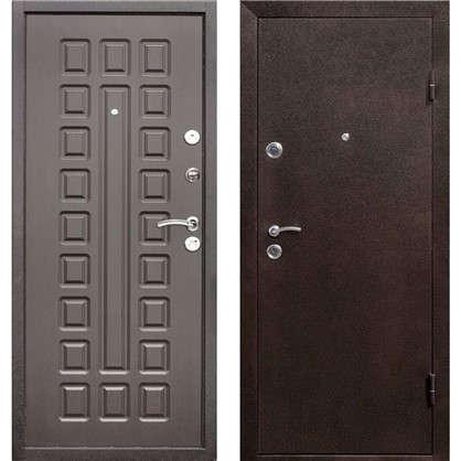 Дверь входная металлическая Йошкар 860 мм правая цвет венге