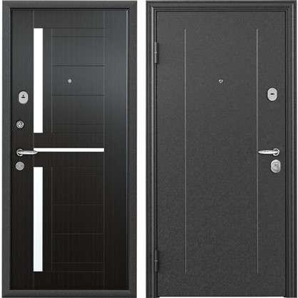 Дверь входная металлическая Контрол 2 860 мм левая цвет тёмный венге цена