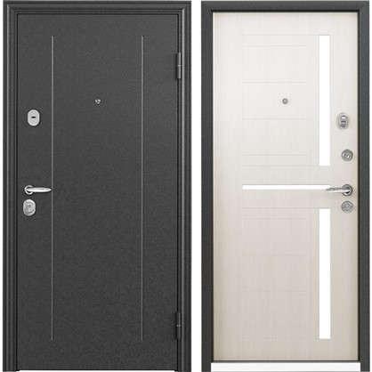 Дверь входная металлическая Контрол 2 860 мм правая цвет белый перламутр цена
