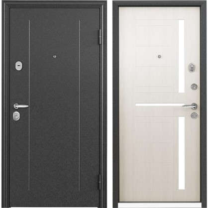 Дверь входная металлическая Контрол 2 950 мм правая цвет белый перламутр цена