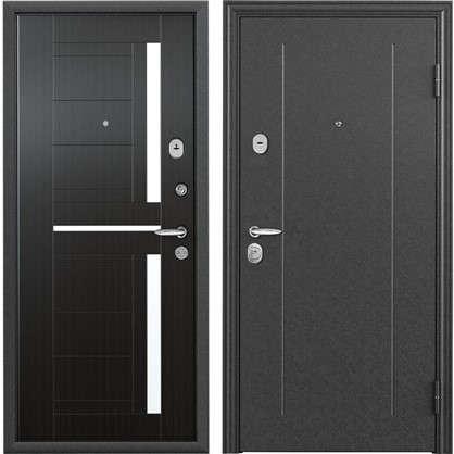 Дверь входная металлическая Контрол 2 950 мм правая цвет тёмный венге цена
