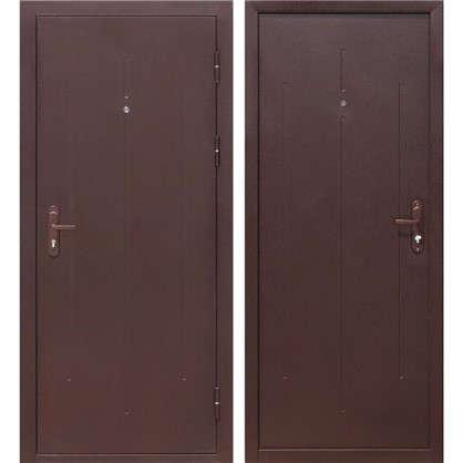 Дверь входная металлическая Стройгост 7-1 860 мм правая цена