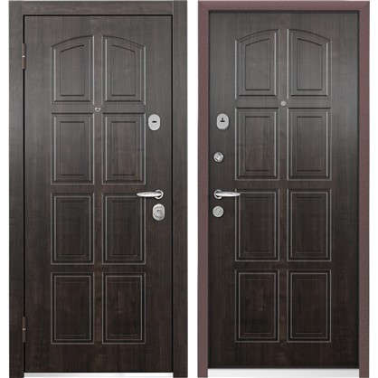 Дверь входная металлическая Уолл Стрит-М 860 мм левая