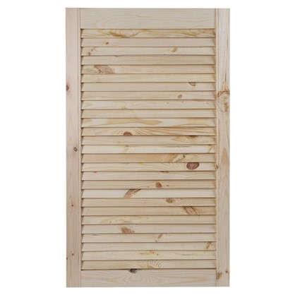 Дверка жалюзийная 850х494х20 мм хвоя сорт А/В