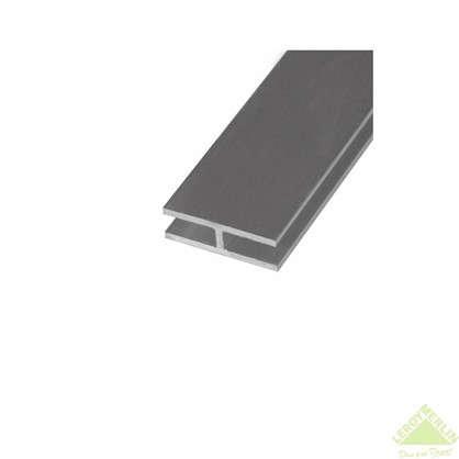 Двутавр алюминиевый 25х13х25х15 см 2 м цвет серебро цена