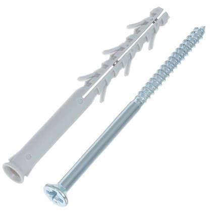 Дюбель-гвоздь потайной Standers 10x120 мм нейлон 4 шт. цена