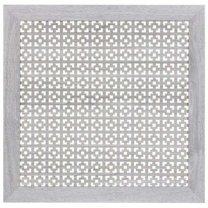 Экран для радиатора Дамаско 60х60 см цвет дуб серый цена