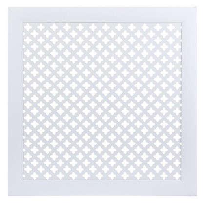 Экран для радиатора Готико 60х60 см цвет белый цена