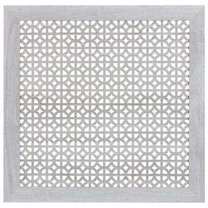 Экран для радиатора Сусанна 60х60 см цвет дуб серый цена