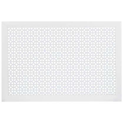 Экран для радиатора Сусанна 90х60 см цвет белый цена