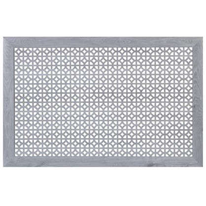 Экран для радиатора Сусанна 90х60 см цвет дуб серый