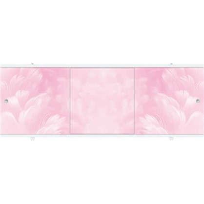 Экран под ванну Премиум А 148 см цвет розовый
