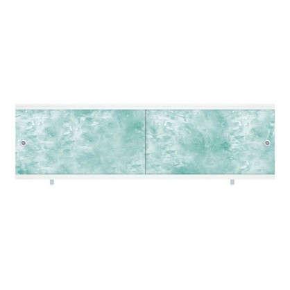 Экран под ванну Ультра лёгкий 148 см цвет изумрудный цена