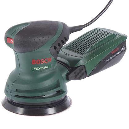 Эксцентриковая шлифовальная машина Bosch PEX 220 220 Вт 125 мм