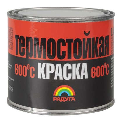 Эмаль акриловая термостойкая Р-818 цвет красно-коричневый 0.4 кг цена