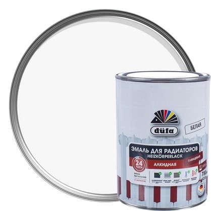 Эмаль для радиаторов Dufa Heizkorperlack цвет белый 0.75 л цена